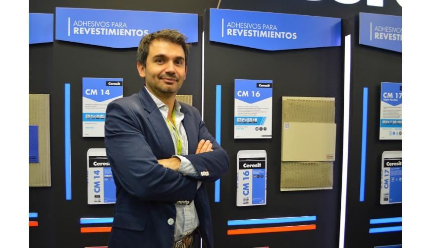 Juan Pablo Sarmiento, gerente de la línea de construcción de Henkel para la región Andina.