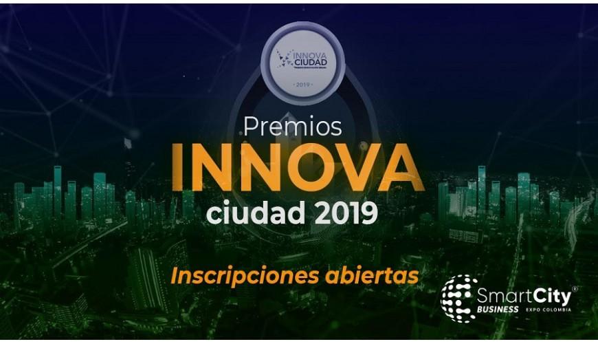Premios Innova Ciudad Colombia 2019.