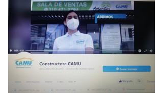 Constructora Camu apuesta al contenido digital