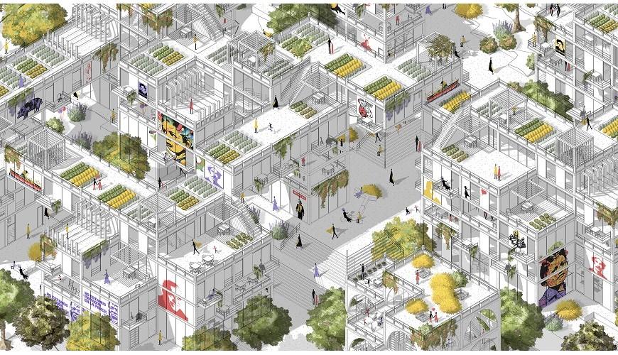 Proyecto Hábitat Multidimensional Bolonia - Usme, Bogotá.