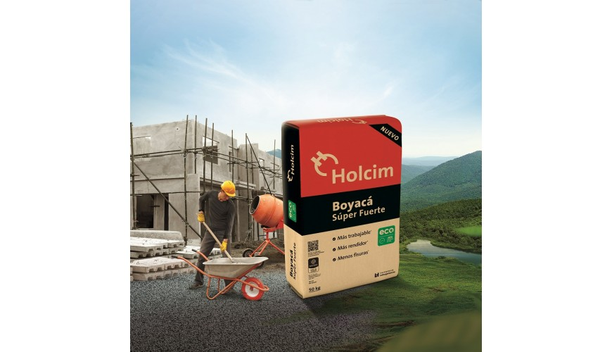 Sacos de cemento de Holcim llevarán Eco Etiquetas.